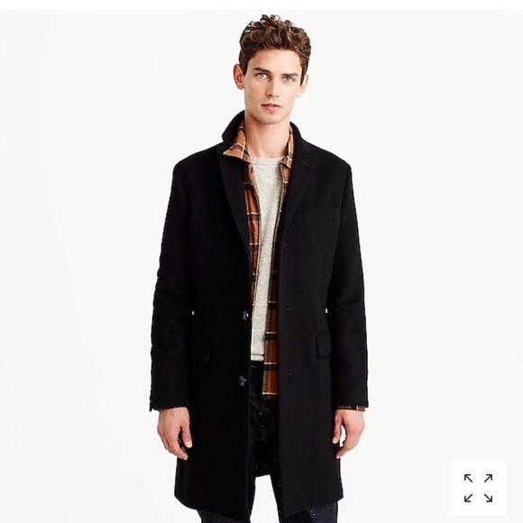 da597843799 J crew ludlow top coat wool cashmere 34s navy NWT